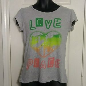 Max Rave Gray Top Size XL